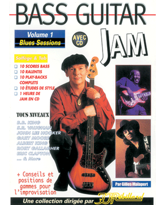 BASS GUITAR JAM VOL 1</BR>Blues sessions