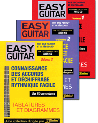 EGL123-Easy Guitar avec CD Volumes 1 à 3