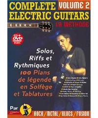 Méthode Guitare Électrique Complete Electric Guitars volume 2 avec CD
