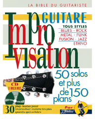 IMPROVISATION GUITARE