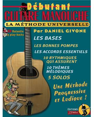 METHODE DEBUTANT GUITARE MANOUCHE