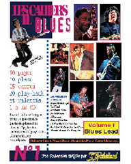 Méthode guitare Blues : Cahiers de blues Vol.1 avec CD