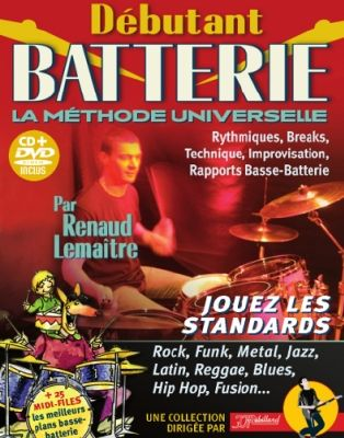 METHODE BATTERIE DEBUTANT