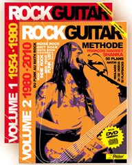 PACK ROCK GUITAR<br /> Tablatures Guitare électrique - Volumes 1 et 2