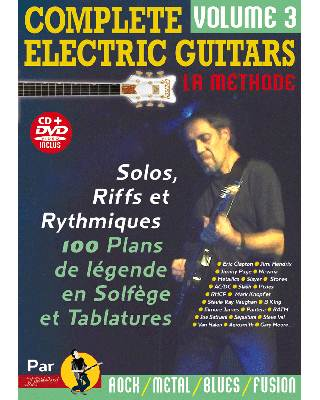 Complete Electric Guitars avec CD et DVD
