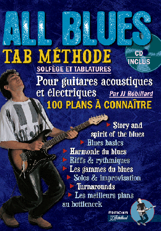MÉTHODE GUITARE ALL BLUES