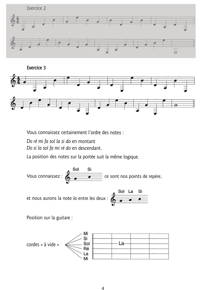 EASY GUITAR Vol.1 - Extrait 3