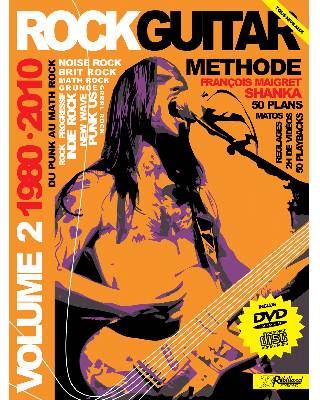 METHODE ROCK GUITAR VOL 2</BR>CD + DVD