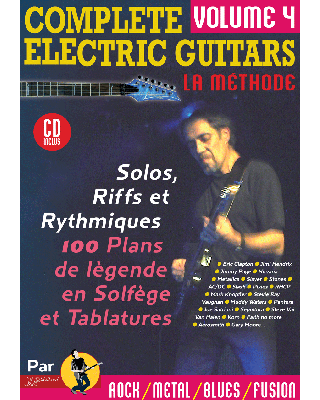 COMPLETE ELECTRIC GUITARS VOL 4 + CD