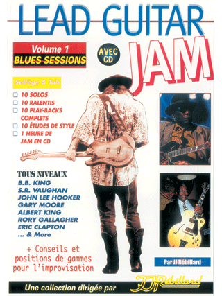 LEAD GUITAR JAM VOL 1</BR>Blues sessions