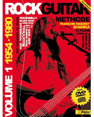METHODE ROCK GUITAR VOL 1</BR>CD + DVD