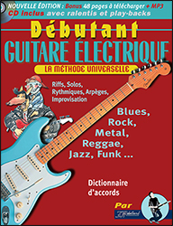 METHODE DEBUTANT GUITARE ELECTRIQUE