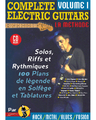COMPLETE ELECTRIC GUITARS VOL 1 + CD