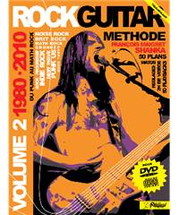Rock Guitar volume 2 avec CD et DVD