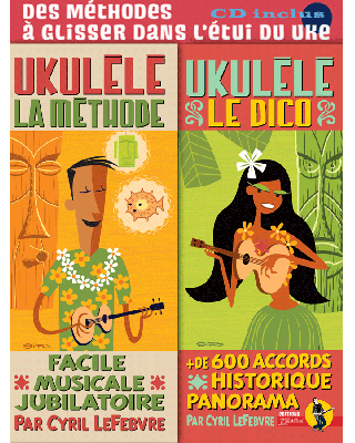 METHODÉ UKULÉLÉ avec LE DICO + CD + MP3