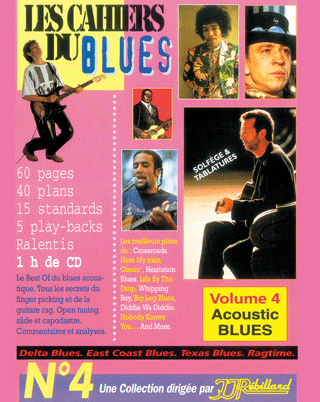 CAHIERS DU BLUES VOL 4</BR>Acoustic blues