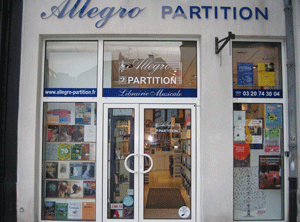 Allegro Partitions