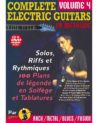 Tablatures - Complete Electric Guitars Vol 4 avec CD et DVD