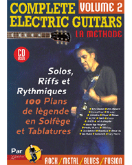 COMPLETE ELECTRIC GUITARS VOL 2 + CD